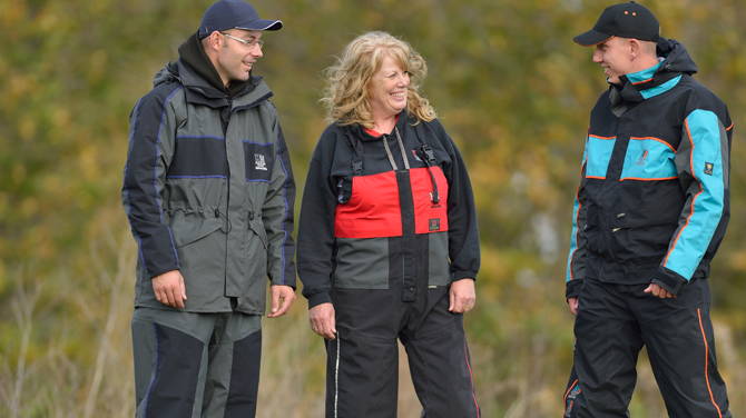 Simply the best waterproof fishing clothing in europe