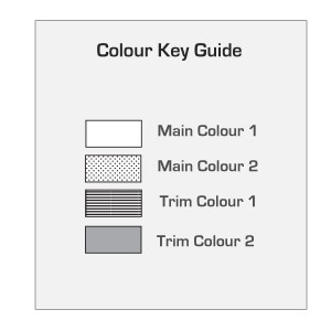 Colour Key Guide - Jersey